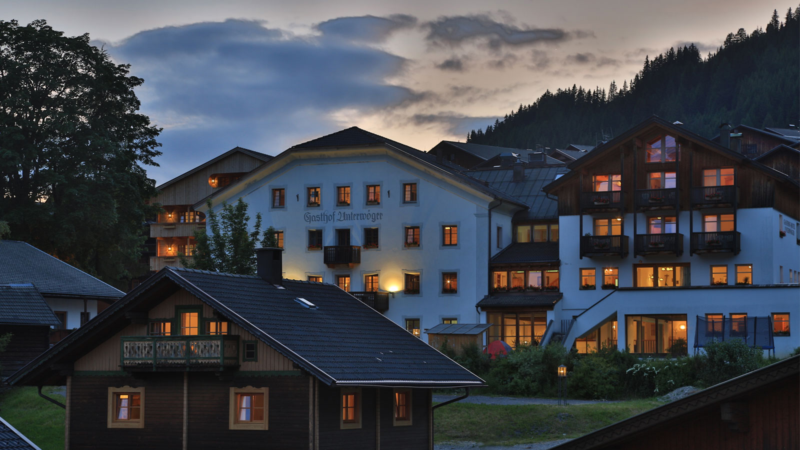 Hotel Gasthof Unterwöger Obertilliach in Osttirol